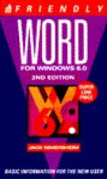 Friendly Word 6.0 for Windows - Jack Nimersheim