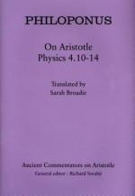 On Aristotle Physics 4.10-14 (Ancient Commentators on Aristotle) - Philoponus, Sarah Broadie