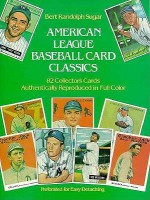 American League Baseball Card Classics - Bert Randolph Sugar