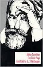 The Final Plays - Arthur Schnitzler