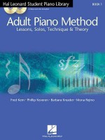 Hal Leonard Student Piano Library Adult Piano Method - Book 1/CD: Book/CD Pack - Barbara Kreader, Phillip Keveren, Fred Kern