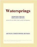 Watersprings - Arthur Christopher Benson