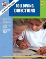 Following Directions, Grades K - 2 - Frank Schaffer Publications, Frank Schaffer Publications