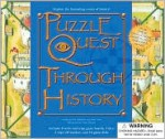 Puzzle Quest Through History [With 2 Dice and 2 Wipe-Off Markers & 16 Game Disks and 8 Write/Wipe Game Boards] - Pat Kelleher, Clint Twist