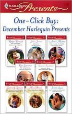 One-Click Buy: December Harlequin Presents - Robyn Donald, Catherine Spencer, Helen Brooks, Jennie Lucas, Julia James, Anne Mather, Kim Lawrence, Sharon Kendrick