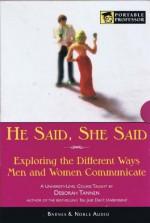 """Communication Matters He Said/She Said: Women, Men And Language"" (The Modern Scholar, Course One) - Deborah Tannen"