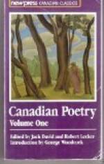 Canadian Poetry - Jack David, Robert Lecker
