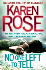 No One Left to Tell - Karen Rose