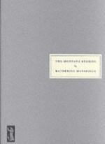 The Montana Stories - Katherine Mansfield