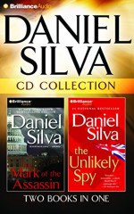Daniel Silva CD Collection: The Mark of the Assassin, The Unlikely Spy - Michael Page, Phil Gigante, Daniel Silva