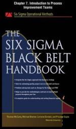 The Six SIGMA Black Belt Handbook, Chapter 7 - Introduction to Process Improvement Teams - Thomas McCarty, Kathleen Mills, Michael Bremer, John Heisey, Praveen Gupta, Lorraine Daniels