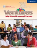 Ventures All Levels Lesson Planner with CD-ROM - K. Lynn Savage, Sylvia Ramirez, Dennis Johnson, Gretchen Bitterlin, Donna Price