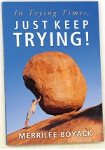 In Trying Times, Just Keep Trying! - Merrilee Boyack