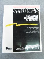 Strong's Exhaustive Concordance of the Bible/Words of Jesus Identified in Boldface Red Letter and a Key-Word Comparison - James Strong