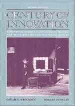 Century of Innovation: A History of European and American Theatre and Drama Since the Late Nineteenth Century - Oscar Gross Brockett, Brockett, Oscar G. Brockett, Oscar G.