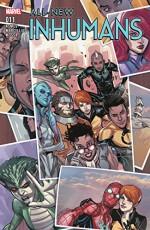 All-New Inhumans (2015-) #11 - James Asmus, Rhoald Marcellius, Stefano Caselli