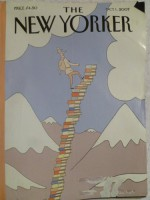 """The New Yorker, Oct. 1, 2007 """"The Insufferable Gaucho"""" - Roberto Bolaño, Philippe Petit-Roulet (cover art)"""