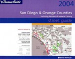 Thomas Guide-San Diego & Orange Counties // Including Portions of Imperial - Rand McNally