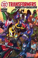 Transformers: Robots In Disguise Animated (2015-) #4 - Priscilla Tramontano, Georgia Ball