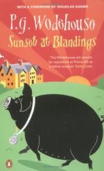 Sunset at Blandings - P.G. Wodehouse, Douglas Adams