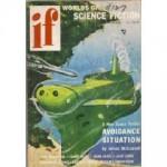 IF Worlds of Science Fiction, 1956 February (Volume 6, No. 2) - James L. Quinn, John Jakes, Miriam Allen deFord, Jack Lewis, Forrest J. Ackerman, James V. McConnell, James Blish, Poul Anderson, Edward W. Ludwig