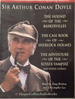 Arthur Conan Doyle Collection: The Hound of the Baskervilles/The Case Book of Sherlock Holmes/The Adventure of the Sussex Vampire - Tony Britton, Christopher Lee, Arthur Conan Doyle