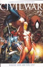 Civil War #2 B Retailer Incentive Michael Turner Variant (Unmasking Of Spider-Man) - Mark Millar, Steve McNiven