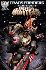 Transformers: Prime - Beast Hunters #3 - Mairghread Scott, Mike Johnson, Michael Lark, Agustin Padilla