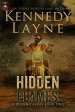 Hidden Flames (Surviving Ashes, Book Two) - Kennedy Layne