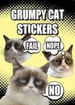 Grumpy Cat Stickers - Grumpy Cat