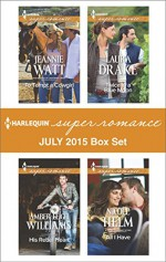 Harlequin Superromance July 2015 - Box Set: To Tempt a CowgirlHis Rebel HeartTwice in a Blue MoonAll I Have - Jeannie Watt, Amber Leigh Williams, Laura Drake, Nicole Helm