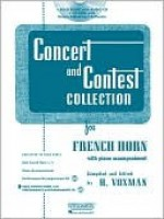 Concert and Contest Collection for F Horn - H. Voxman