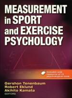 Measurement in Sport and Exercise Psychology with Web Resource - Gershon Tenenbaum, Robert Eklund, Aki Kamata
