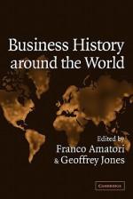 Business History Around the World - Amatori Franco, Geoffrey Jones