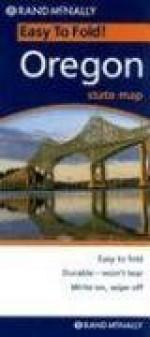 Rand McNally Easy To Fold: Oregon (Laminated) (EasyFinder) - Rand McNally