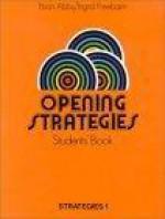 Opening strategies - Brian Abbs, Ingrid Freebairn