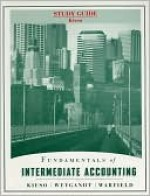 Fundamentals of Intermediate Accounting, Study Guide - Donald E. Kieso, Jerry J. Weygandt, Terry D. Warfield