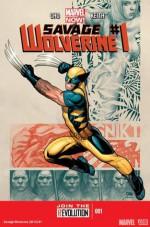 Savage Wolverine #1 (Marvel Now, Savage Wolverine #1) - Frank Cho