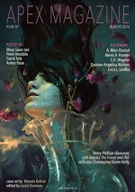 Apex Magazine Issue 87 - A. Merc Rustad, Alexis A. Hunter, E.K. Wagner, Erica L. Satifka, Damien Angelica Walters, Jason Sizemore