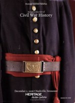 Heritage Inaugural Auction of Civil War History #642 - Session 1 - Tom Slater, James L. Halperin, Marsha Dixey