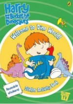 Welcome To Dino World! Sticker Activity Book - Ian Whybrow
