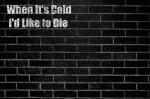 When It's Cold I'd Like to Die - R. L. Stine, E. L. James, James Patterson, George R.R. Martin, J. K. Rowling, Stephen King, Danielle Steel, Stephenie Meyer, Dan Brown