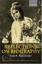 Reflections On Biography - Paula R. Backscheider