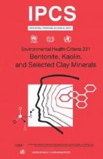Bentonite, Kaolin and Selected Clay Minerals - Who, World Health Organization, IPCS