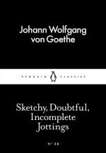 Sketchy, Doubtful, Incomplete Jottings (Little Black Classics #36) - Johann Wolfgang von Goethe