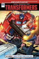 Transformers Deviations #1 (IDW Deviations) - Priscilla Tramontano, Brandon Easton, Marcelo Matere