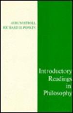 Introductory Readings in Philosophy - Avrum Stroll, Richard H. Popkin