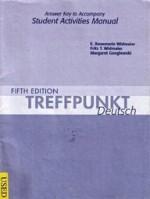Answer Key for Treffpunkt Deutsch: Grundstufe - E. Rosemarie Widmaier, Fritz T. Widmaier, Margaret Gonglewski
