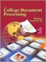 Gregg College Keyboarding & Document Processing (Gdp), Lessons 61-120, Home Version, Kit 2, Word 2002 - Scot Ober, Jack Johnson, Arlene Zimmerly