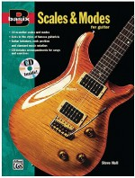 Scales and Modes for Guitar (with CD) - Steve Hall